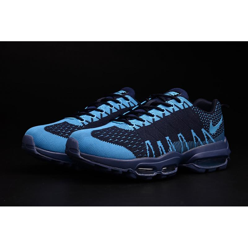 e61beaccb7f5 ... Best For Sale Men Running Shoes Nike Air Max 95 Flyknit SKU 34453-234
