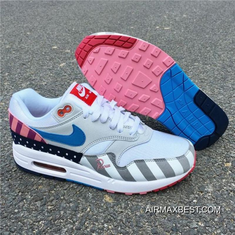 Best Latest Men Piet Parra X Nike Air Max 1 White Multi, Price