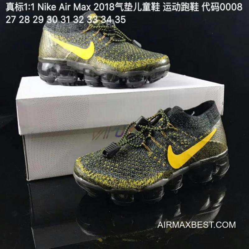 6abede42fc Best Latest Kids Nike Air VaporMax 2018 Flyknit Running Shoe SKU:16648-224  ...