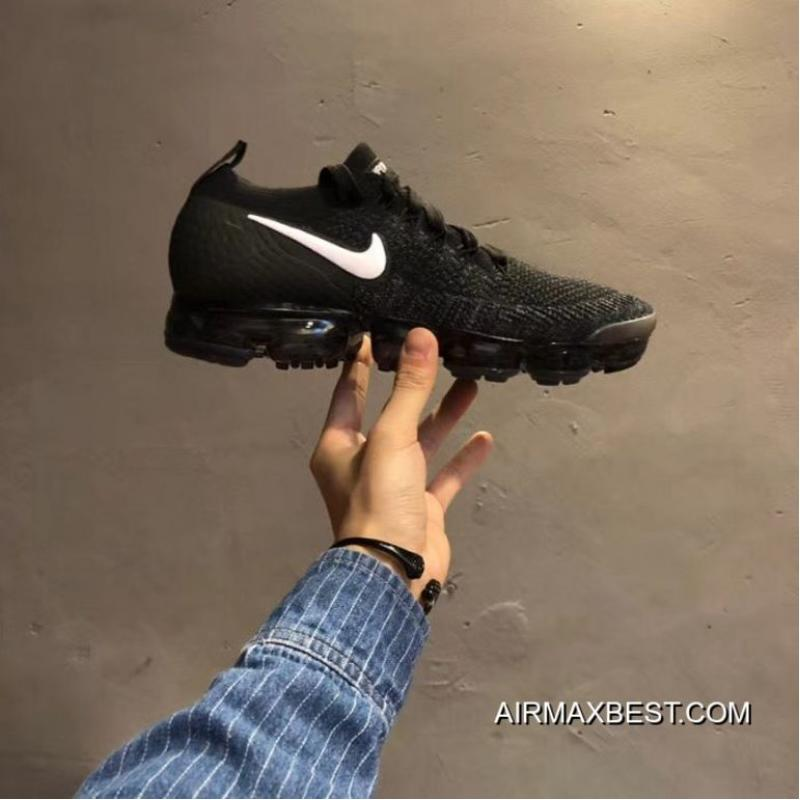Men Nike Air VaporMax 2018 Flyknit Running Shoes SKU:69280 377 Super