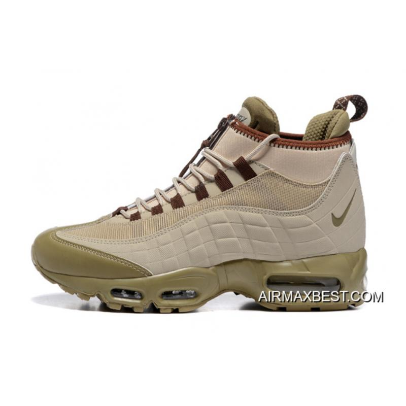 new concept ab5ab fc206 Men Running Shoes Nike Air Max 95 Sneakerboot SKU:184255-230 Best Super  Deals