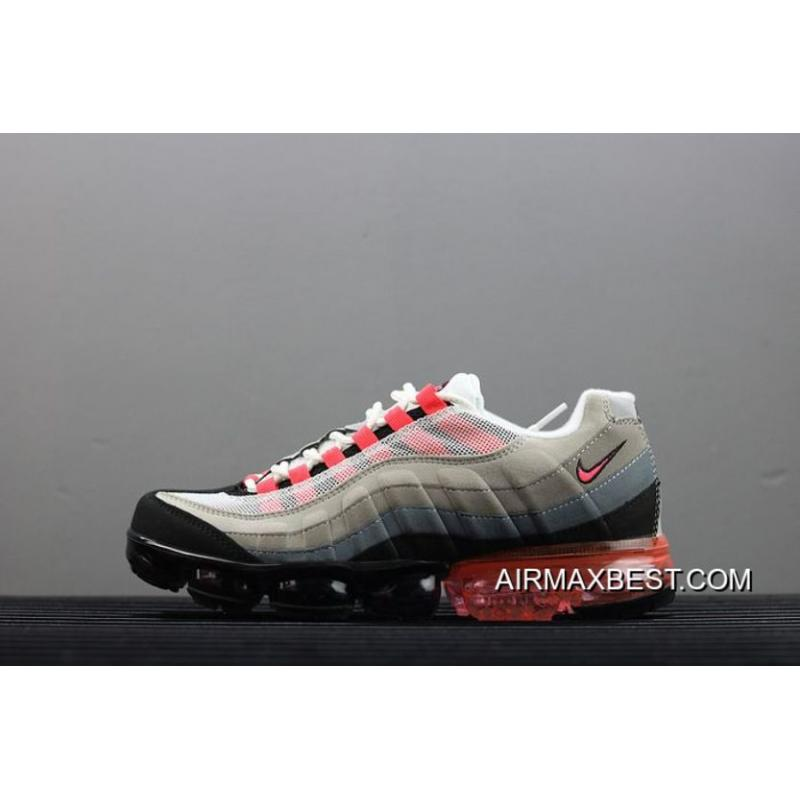 new product 78091 0df44 Men Nike Air VaporMax 95 Running Shoes SKU:108840-313 Best Outlet