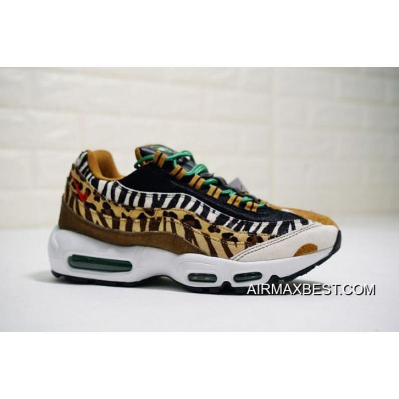 new styles eeffe b165e Outlet Men Nike Air Max 95 DLX Animal Pack 2.0 Running Shoes SKU:27551-355