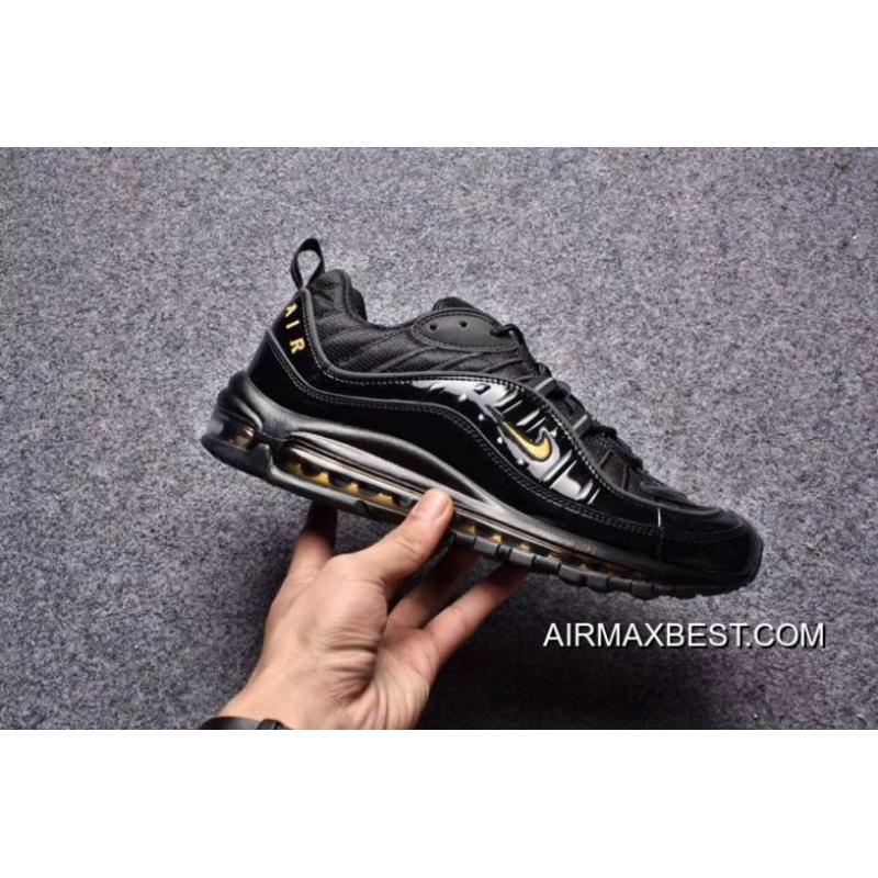 Latest Men Supreme X NikeLab Air Max 98 Running Shoe SKU:132184 221