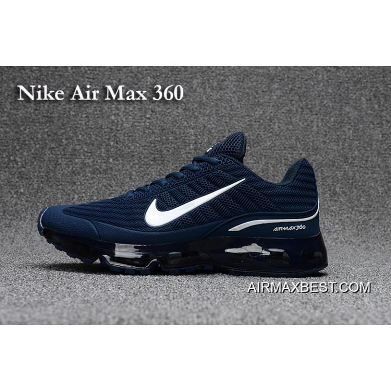Best Online Men Nike Air Max 360 Running Shoes KPU SKU:123120-207