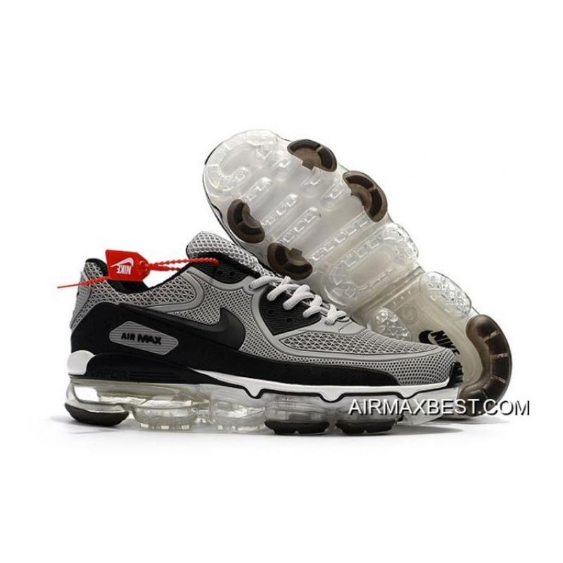 newest collection 900b4 3d185 Men Nike 2018 Air VaporMax 90 Running Shoe KPU SKU:199247-316 Best Top Deals