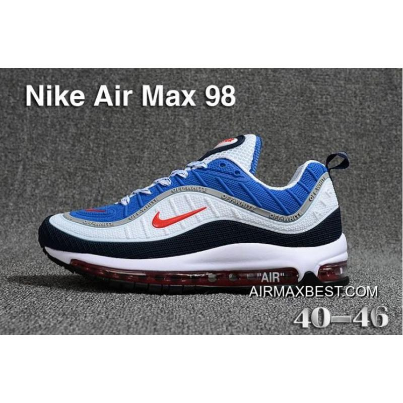 Best New Style Men Nike Air Max 98 Running Shoes KPU SKU:69203 357