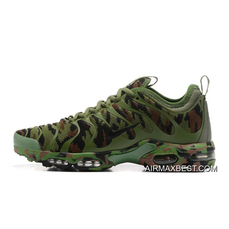 Best Outlet Men Nike Air Max Plus TN Ultra Camouflage Running Shoe  SKU 57445- ... 7494d0d78b