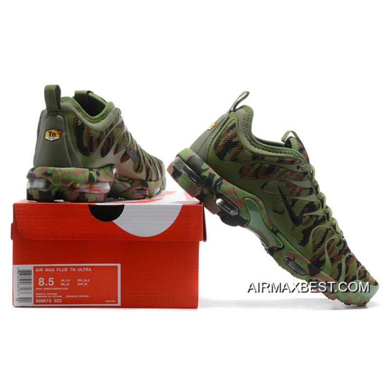 382ac885fd ... Best Outlet Men Nike Air Max Plus TN Ultra Camouflage Running Shoe  SKU:57445- ...