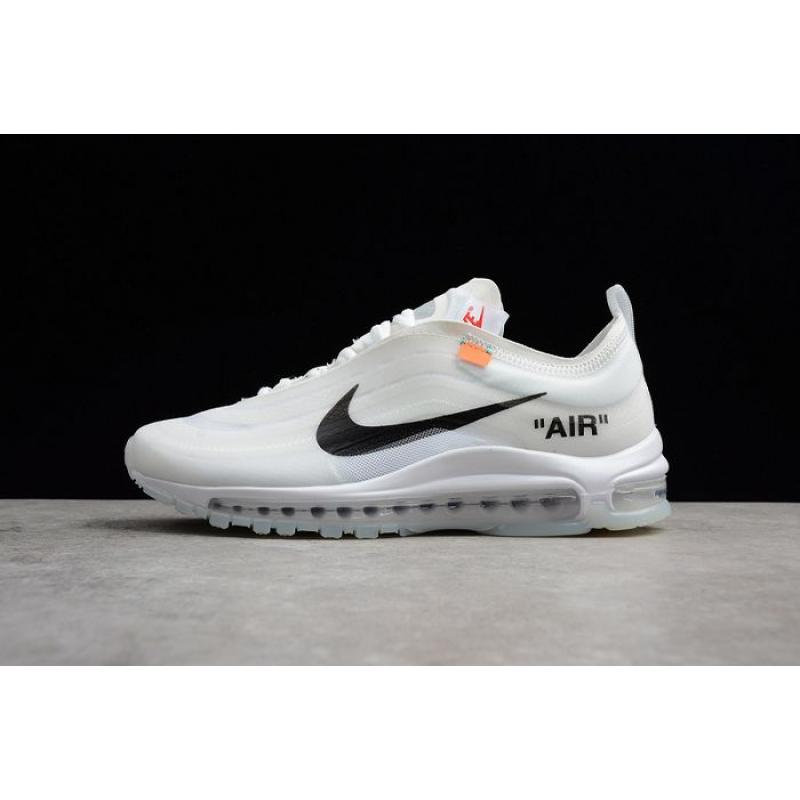 nouveau concept ab449 b2830 Men OFF-WHITE X Nike Air Max 97 Running Shoe SKU:176711-216 New Release