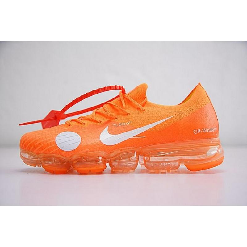 3db7ae6809f Men OFF-WHITE X NNike Air VaporMax Running Shoe SKU 57529-280 Free ...