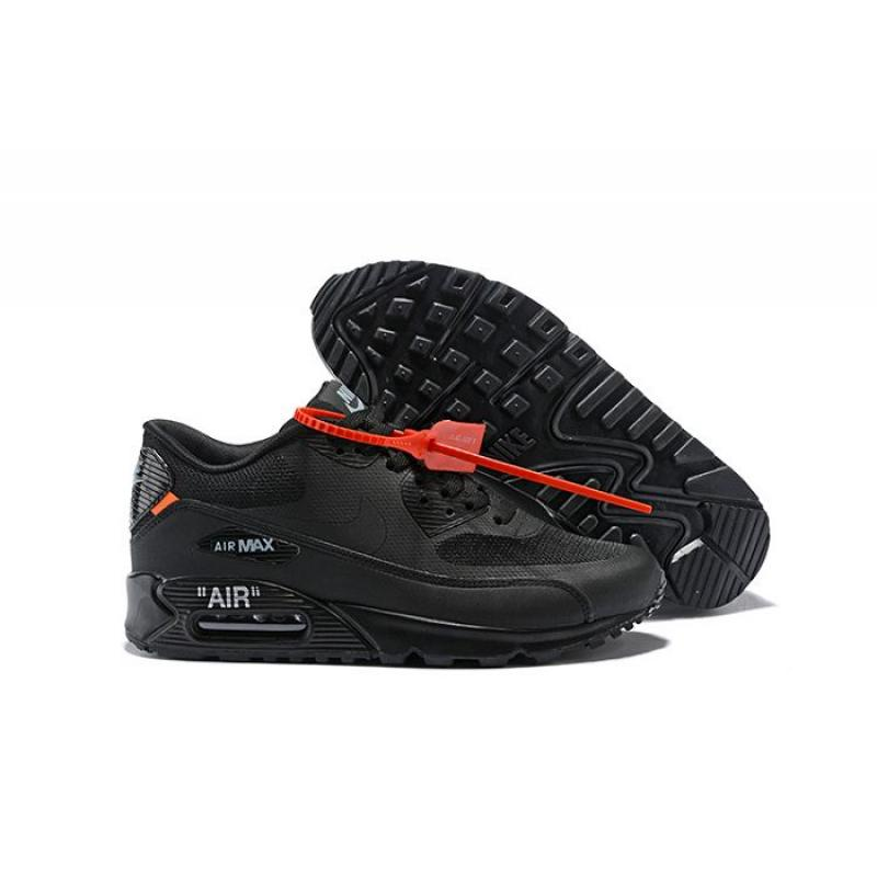 b22fe864423 Men OFF-WHITE X Nike Air Max 90 Running Shoes SKU 83925-309 New ...