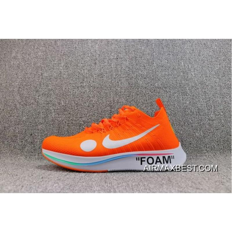 separation shoes 0a0ad 8aecf Men OFF-WHITE X Nike Zoom Fly Mercurial Flyknit Running Shoe SKU 58664- ...