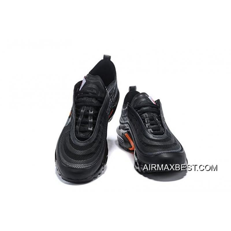 finest selection 8e823 fd9f1 Latest Men OFF-WHITE X Nike Air Max 97 TN Running Shoes SKU:31082-466