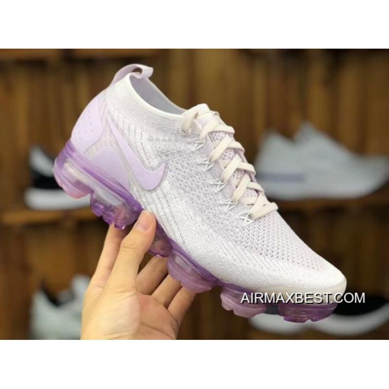 071154ed2c Best Copuon Women Nike Air VaporMax 2018 Flyknit Sneakers SKU:58038-299 ...