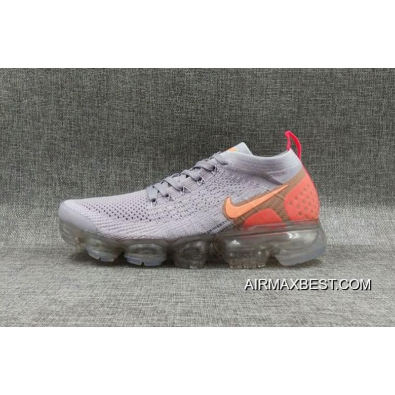 3cd9856388 Online Women Nike Air VaporMax Flyknit 2 Sneakers SKU:199513-374 ...