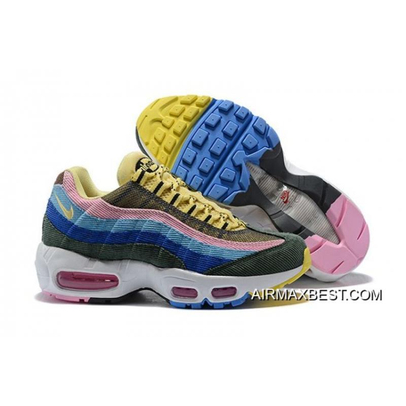 20440e65f8a19f Best New Release Women Nike Air Max 95 Sneakers SKU 92085-239 ...