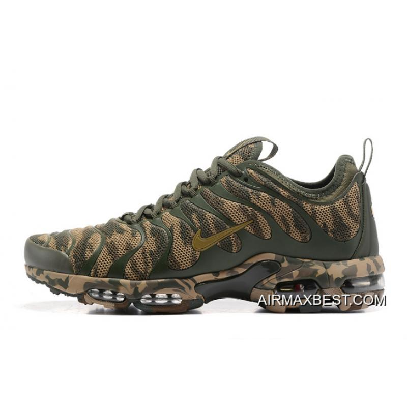 reputable site 04882 9fc3b Women Nike Air Max Plus TN Ultra Camouflage Sneaker SKU:197037-218 Discount