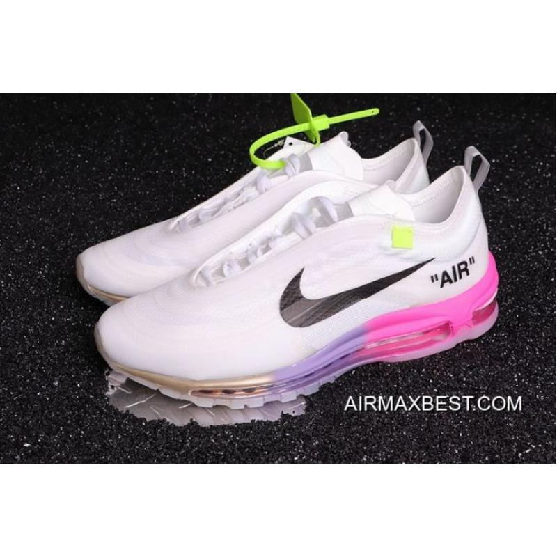 Women OFF-WHITE X Nike Air Max 97 Sneaker SKU 62179-378 For Sale ... 29ee97739