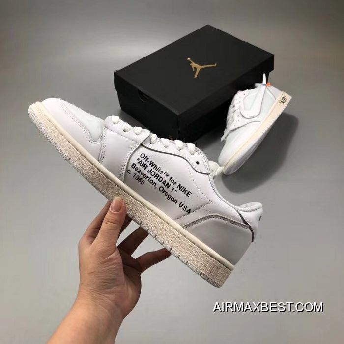 63d6711931e Top Deals Men OFF-WHITE X Air Jordan 1 SKU 27265-317