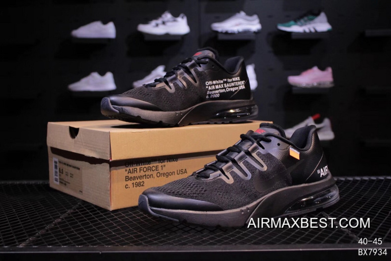 Nike Air Max Saunterer OFF WHITE X To Be Publishing Across The Street Rovers Half As Sport Running Shoes BX7934 Super Deals