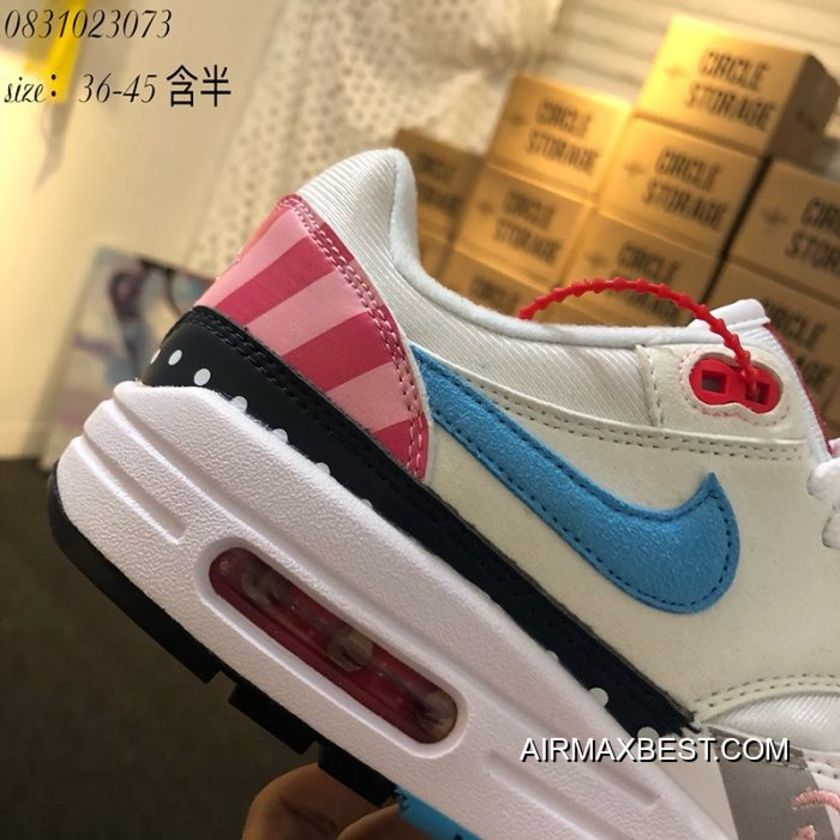 the latest 78248 63f54 Free Shipping Women Nike Air Max 1 Sneakers SKU 86528-305